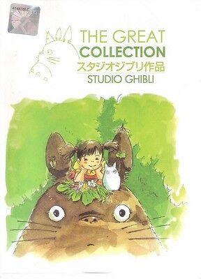 STUDIO GHIBLI Movie Collection | 21 Movies mit englischer Synchro | 8 DVD-Set-LU
