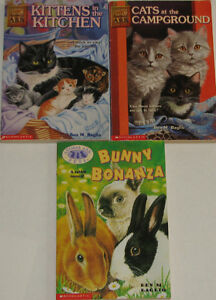 2 sets of 3 Animal Ark Chapter Books London Ontario image 3