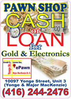 ePawn LLC - CASH LOANS for your GOLD, SILVER, PLATINUM jewelry