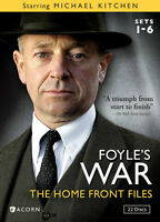 Foyle's War: The Home Front Files (Sets 1-6) 22 DVDs