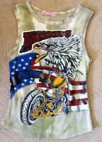 Diabless Harley Davidson Inspired Tank Top-size Small