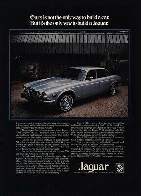 1975 JAGUAR XJ Series Sedan Luxury Car VINTAGE Magazine ADVERTISEMENT