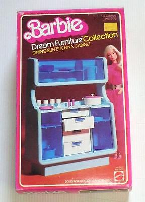 BARBIE Dream Furniture Collection DINING BUFFET/ CHINA CABINET 1978 - NIB!