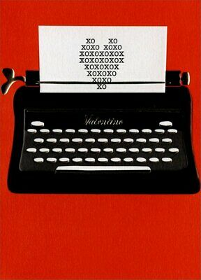 Used, Typewriter Valentine A*Press Valentine's Day Card by Avanti Press for sale  Lancaster