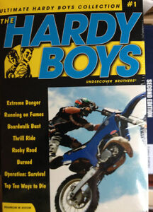 new The hardy boys undercover brother graphic novels ( #5 to 8)