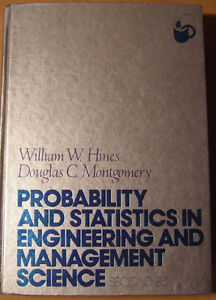 Probability and statistics in engineering and management science