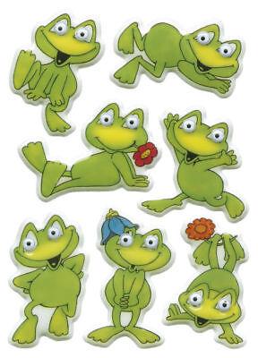 Herma 6091 Sticker Aufkleber MAGIC lustige Frösche, Wackelaugen