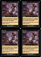 Magic: the Gathering - Entomb - (Odyssey) Playset (4 copies)