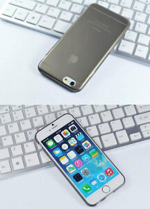 NEW THIN CLEAR SILICONE SOFT COVER CASE FOR IPHONE 6 SNAP ON Regina Regina Area image 3