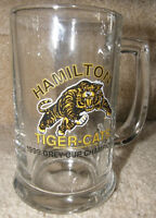 Hamilton Ti Cats Grey Cup Champions CFL beer glass