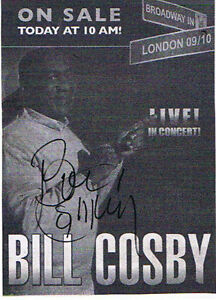 TV Guide & 2 Photos  Autog By Bill Cosby. London Ontario image 4