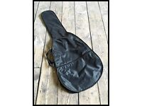 Black guitar bag...
