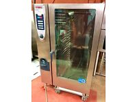 Rational oven scc 40 grid 202 Combi oven Roll in trolley electric serviced