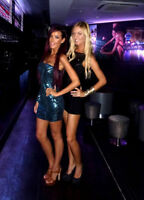 Nightclub Hostesses wanted. Party girls welcome