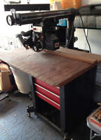 10in radial arm Saw - Craftsman