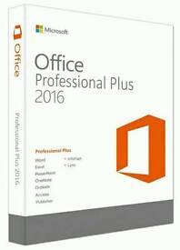Microsoft Office 2016 Professional Plus Genuine 32bit&64bit