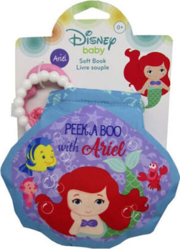 Disney Baby Princess Ariel Teether and Soft Book Toy Baby Gi