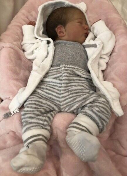 Reborn Baby Girl Doll (pre-owned)