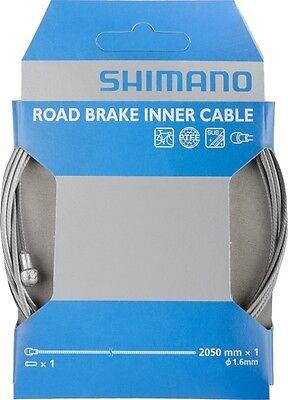 Shimano Cable de Freno Road Ptfe Acero Inox. 1,6mm x 2050mm Emb.orig,...