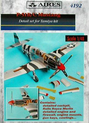 Aires 1/48 P-51B/C Mustang Detail Set for Tamiya kit 4192