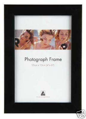 Wholesale Photo Frames (20 Photo Frames Wholesale Black & Wood Effect 4 x 6)