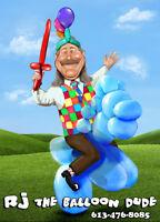 BIG SAVINGS for RJ the Balloon Dude