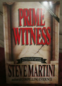 Prime Witness by Steve Martini (1993) TPB ARC