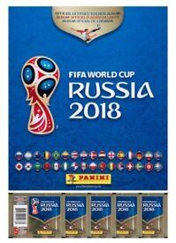 panini FIFA russia 2018 swaps