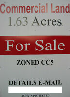 ZONED COMMERCIAL LAND-1.63 Acres-North London, Ont.