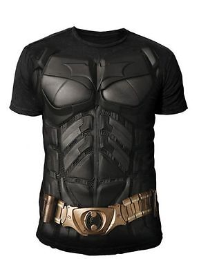 DC Comics - Batman Arkham Knight Herren T-Shirt - Kostüm Suit (Schwarz) (S-XL) ()
