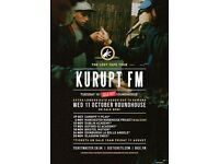 Three tickets for Kurupt FM's sold out show at Camden Roundhouse