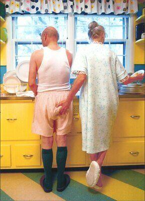 Husband Birthday Card - Woman Goosing Husband Funny Birthday Card - Greeting Card by Avanti Press
