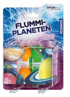 Flummi Planeten Kosmos Sparkline Experiment Gummiball