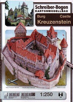 Schreiber-Bogen Kartonmodellbau Burg Kreuzenstein