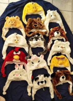 Plush Faux Fur Adult/Children/Kids Animal Winter Warm Hat Beanie