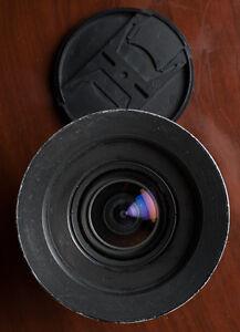 Nikon 18mm f/4 prime lens, manual focus