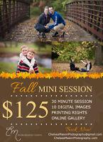 Fall Mini Session SALE!