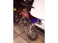 140cc Lifan Stomp Pitbike Pit bike Dirt Bike SWAPS CASH