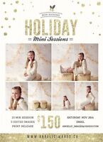 Holiday Mini Sessions Indoors London Ontario