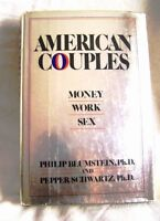 Vintage Book – American Couples - Money, Work, Sex, 1st ed