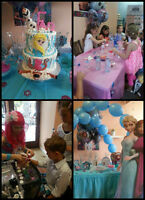 Facepainting ! Balloon Decoration ! Frozen  Party! Face Painting