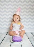 Cake Smash Photographer - Free Birthday  Card Design + Prints