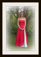 Red Prom/Grad Gown