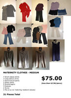 Maternity Clothes - Size Medium