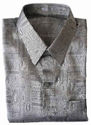 XXXL Mens Silk Shirts
