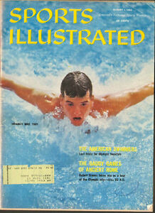 1960 Sports Illustrated Magazine- Indiana swimmer Mike Troy