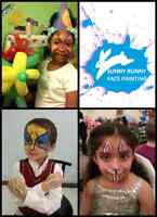 birthday party face painting.balloon $60
