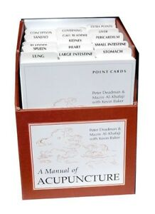 Manual of Acupuncture cards