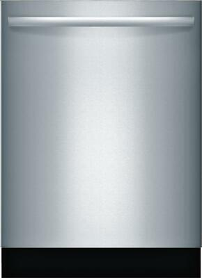 """Bosch 800 Series SGX78B55UC 24"""" Fully Integrated Smart Dishwasher Stainless"""