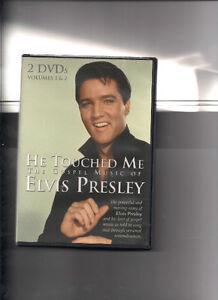 Elvis Presley 2 DVDs – He Touched Me and Elvis Lives